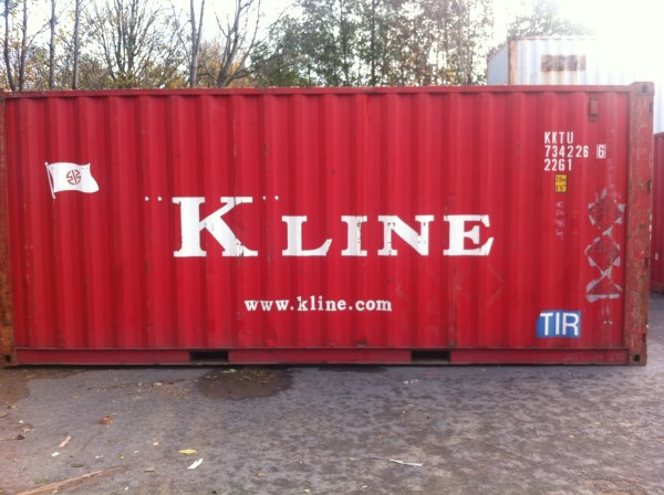 20ft x 8ft Cargo-Worthy CSC Plated Shipping Containers For Sale