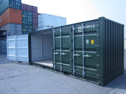 20ft x 8ft new openside container buy a container. Black Bedroom Furniture Sets. Home Design Ideas